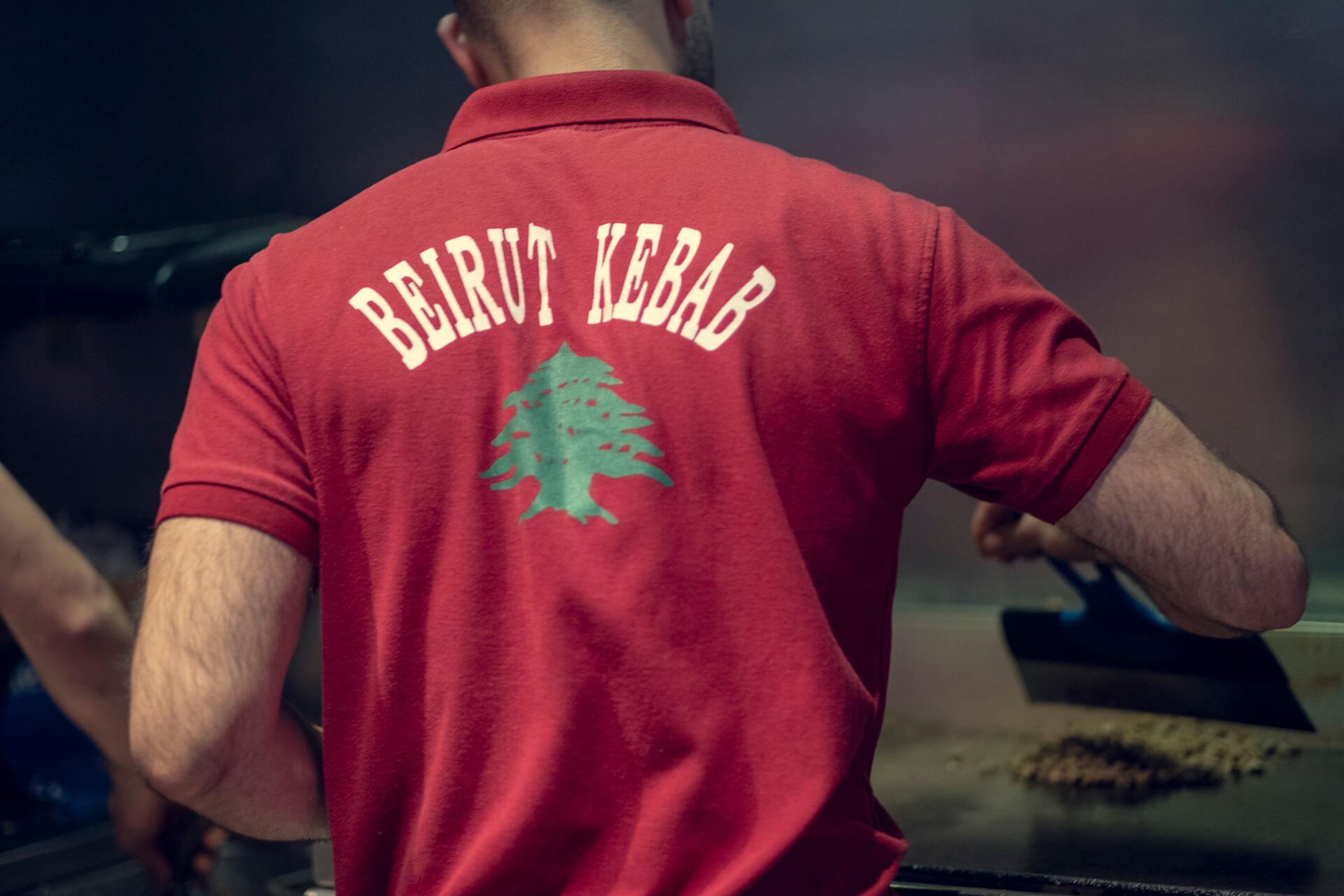 Kokk Beirut Kebab på Grønlands Torg