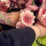 Vakre blomster fra Floriss på Grønland Torg