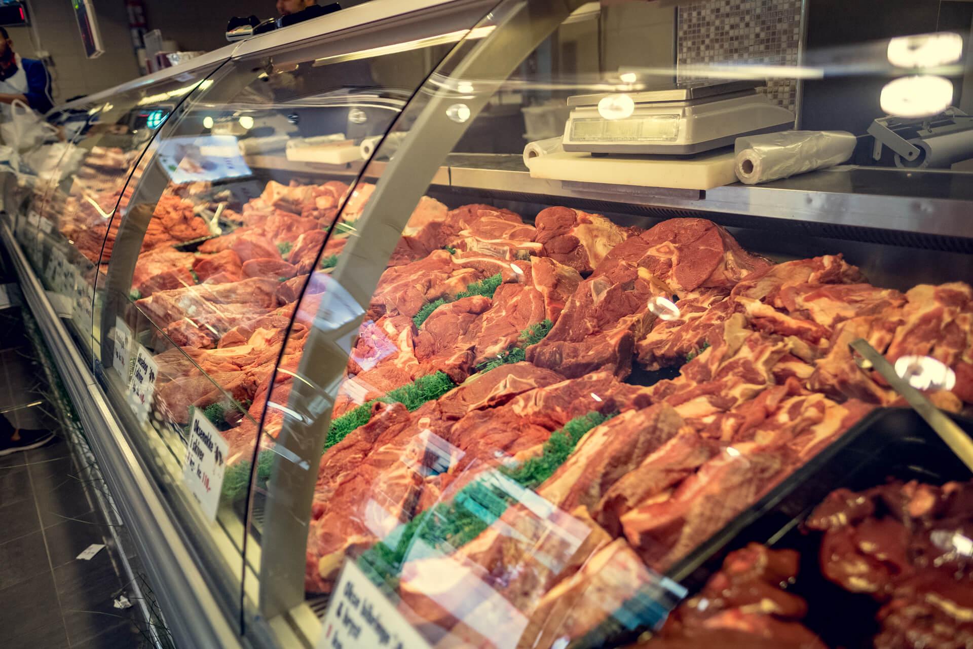 Slakter hos Grønlands Torg kjøtt