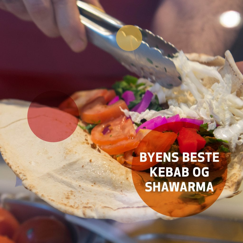 Få byen beste kebab på Grønlands Torg