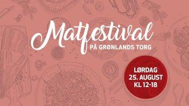 Matfestival hos Grønlands Torg!