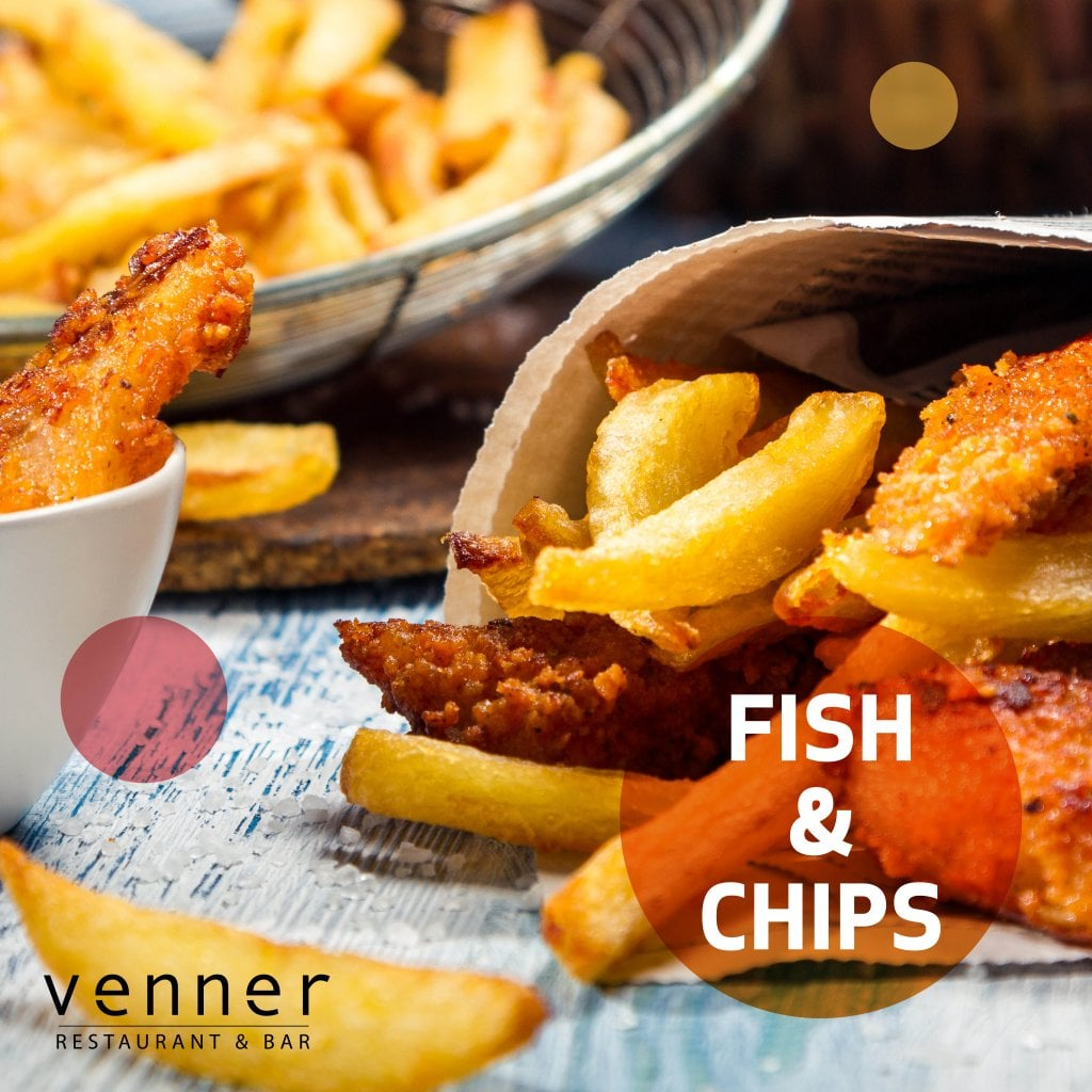 Digg Fish n' Chips hos Venner